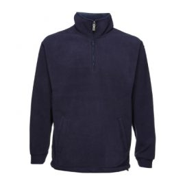 The Aurora Kids Microfleece Half Zip is a hard wearing heavy weight micro fleece. Good for school uniforms. 340GSM heavyweight. Available in Black, Navy & Forest.