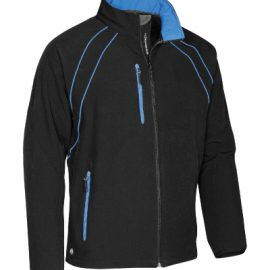 The Stormtech Mens Crew Softshell Jacket is a mid length, 2 tone stretch softshell jacket with microfleece lining, technical pockets & contrast piping.  3 colours.