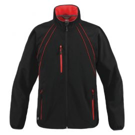 The Stormtech Womens Crew Softshell Jacket is a mid length softshell jacket.  3 colours.  Great branded Stormtech softshell jackets for your team.