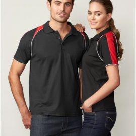 The Biz Collection Ladies Triton Polo is a 50% cotton,50%BIZ COOL™ Polyester polo shirts. 7 colours. 8 - 24. Great branded biz cool polos shirts & uniforms.
