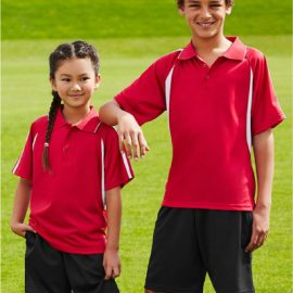 The Biz Collection Kids Flash Polo is a BIZ COOL™ 100% Breathable Polyester Single Jersey Knit polo shirt. 15 colours. Great kids biz cool polos & sportswear.