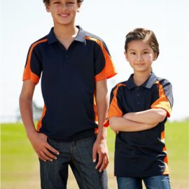The Biz Collection Kids Talon Polo is a 100% biz cool polyester fabric shirt. 10 colours. Sizes 4 - 16. Great branded kids sports polos and team wear.