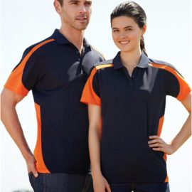 The Biz Collection Mens Talon Polo Shirt is made from 100% Biz Cool breathable polyster material. 10 colour combos. Great branded biz cool polos & uniforms