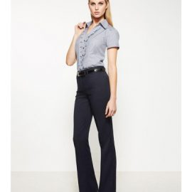 The Biz Corporates Womens Relaxed Fit Pant is a 92% polyester, 8% bamboo pant. Available in 3 colours. Sizes 4-26.
