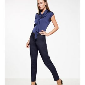 The Biz Corporates Womens Slim Leg Pant is a 92% polyester, 8% bamboo. Available in 3 colours. Sizes 4-20.