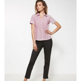 The Biz Corporates Womens Slim Leg Pant is a 55% Polyester 43% Wool 2% Elastane pant. Available in 3 colours. Sizes 4-20.