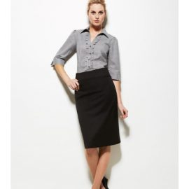 The Biz Corporates Women Relaxed Fit Skirt is a 92% Polyester 8% Bamboo Charcoal pant. Available in 3 colours. Sizes 4-26.