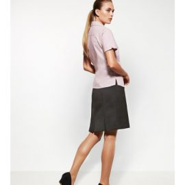 The Biz Corporates Womens Multi-Pleat Skirt is a 92% Polyester 8% Bamboo Charcoal skirt. Available in 3 colours. Sizes 4-26.