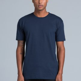 The AS Colour Staple Tee is a 180gsm, 100% cotton mens tee. Available in 35 colours. Sizes S - 3XL. Great branded printed AS Colour mens tees.