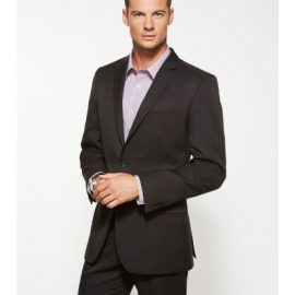 The Biz Corporates Mens Slimline Jacket ia a cool Stretch jacket made of 92% Polyester 8% Bamboo Charcoal. Available in 3 colours. Sizes 87R - 127R.