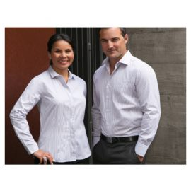 The Unlimited Editions Mens Wall St Shirt is a mens, 60% cotton, classic fit shirt. 2 colours. Great branded business shirts from C-force Textiles.
