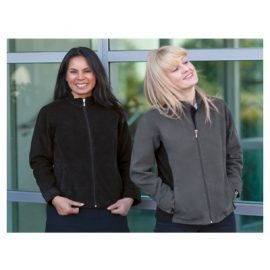 The Unlimited Edition Womens Altitude Jacket is made from 100% polyester microfleece. Available in Black, Navy & Charcoal.  Sizes 8-20.