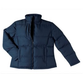 The Unlimited Editions Womens Alpine Puffer Jacket is made from 100% polyester with a showerproof outer shell. Available in Black & Navy.  Sizes 8-20.