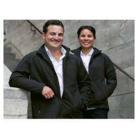 The Unlimited Edition Managers Softshell Jacket is made from 100% polyester. A wind and showerproof softshell jacket. Available in Black. Unisex. Sizes 3XS (8)-5XL (26).