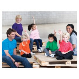 The Unlimited Edition Kids Cotton Tee is made from 100% cotton. Durable weight 180gsm. Available in 24 colours. Sizes 2-14.