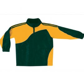 The Unlimited Edition Adult Sports Track Jacket is a 120gsm, full zip, team jacket.  8 colours.  Great team wear from C-Force Textiles.