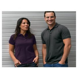 The Unlimited Edition Mens Edgeware Polo is made from 100% combed cotton. 180gsm. Pique Knit Fabric. Available in 10 colours. Sizes S-5XL.