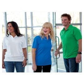 The Unlimited Edition Oxford Adults Polo is made from 100% polyester quick dry knit material. 150gsm. Available in 9 colours. Sizes 3XS-7XL.