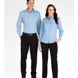 The Biz Collection Mens Detroit Pant - Regular is an easy fit mens pant. Black or Navy. Great workwear pants from Biz Collection.