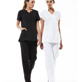 The Biz Collection Ladies Harmony Pant is a comfort fit. easy care work pant.  Black, Navy or White.  6 - 20.  Great work pants from Biz Collection.