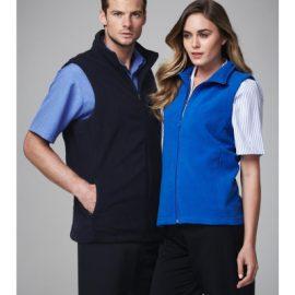 The Biz Collection Mens Plain Microfleece Vest is a 285gsm modern fit, microfleece vest. Black or Navy. S - 5XL. Great microfleece vests from Biz Collection.