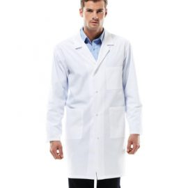 The Biz Collection Unisex Classic Lab Coat is a 65% polyester lab coat.  Available in White.  Great branded healthcare clothing & Biz Collection work wear.