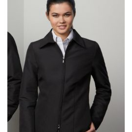 The Biz Collection Ladies Studio Jacket is a modern fit polyester jacket. Black. S - 3XL. Great work jackets from Biz Collection.