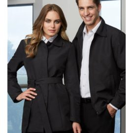 The Biz Collection Mens Studio Jacket is a polyester Black jacket.  S - 5XL.  Great branded work jackets from Biz Collection.