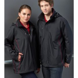 The Biz Collection Unisex Core Jacket is a polyester outer, microfleece inner, modern fit jacket. 5 colours. Great branded jackets from Biz Collection.