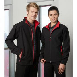 The Biz Collection Ladies Geneva Jacket is a Biz Tech, polyester outer, microfleece inner jacket.  4 colours.  S - 2XL.  Great work jackets from Biz Collection.