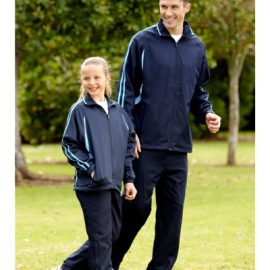 The Biz Collection Adults Flash Track Pant has an elasticated waist with drawstring, 3 pockets and available in 4 colours. Great sportswear for teams from Biz Collection