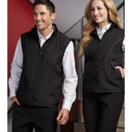 The Biz Collection Unisex Reversible Vest is an easy fit, polyester outer, microfleece inner vest.  Reversible.  2 colours.  Great work vests from Biz Collection.