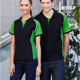 The Biz Collection Ladies Nitro Polo is a 65% polyester, 35% cotton pique knit polo shirt.  7 colours.  8 -24.  Great branded polo shirts & promo clothing.