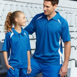 The Biz Collection Kids Splice Polo is a BIZ COOL™ 100% Breathable Polyester mesh knit polo shirt.  10 colours.  Great branded sports polo shirts & uniforms.