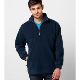 The Biz Collection Mens Heavy Weight 1/2 Zip Winter Fleece 100% polyester low pill fleece.  Available in Black & Navy.  sizes XS-3XL.
