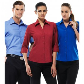 The Biz Collection Ladies Plain Oasis 3/4 Sleeve Shirt is a Biz Comfortcool performance shirt.  Classic fit.  9 colours.  Great shirts from Biz Collection.