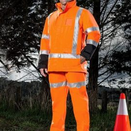 The Syzmik TTMC-W Quilt Lined Storm Jacket is a jacket that is quilt lined with an internal pocket.  Waterproof to 5000mm.  Great hi viz jackets.