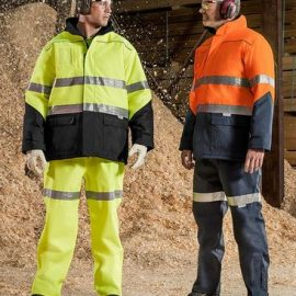 The Syzmik Mens Taped Storm Pant is a polyester, fully seam sealed pant.  5000mm waterproof rating.  Navy, Orange or Yellow.  Great Syzmik workwear.