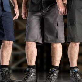 The Syzmik Drill Cargo Short is a 280gsm, 100% cotton twill short.  3 colours.  72 - 132.  Great trades shorts and workwear from Syzmik.