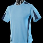 The Aussie Pacific Mens Eureka Tee is made from 100% Driwear polyester moisture removal fabric. 14 colours. Great branded sports tees & sportswear.