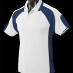 The Aussie Pacific Mens Murray Polo Shirt is made from 100% Driwear polyester moisture removal fabric.  14 colours.  Great branded polos & sportswear.