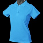 The Aussie Pacific Ladies Keira Polo is made from Driwear 180gm 80% polyester & 20% cotton, moisture removal fabric. 5 colours. Great branded polos & sportswear.