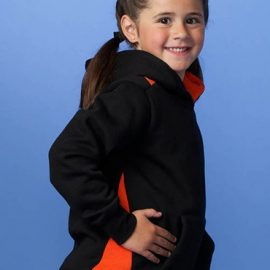 The Aussie Pacific Kids Paterson Hoodies offer a contrast edge stitch hood line. 50/50 cotton poly blend. 300gsm. 10 colours. Great branded hoodies & sportswear.
