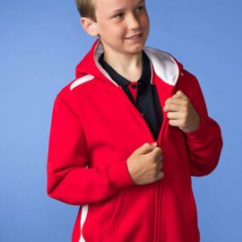 The Aussie Pacific Kids Franklin Zip Hoodies are a 50/50 polyester cotton blend, 300gsm. In 10 colours. Great branded hoodies & sportswear.