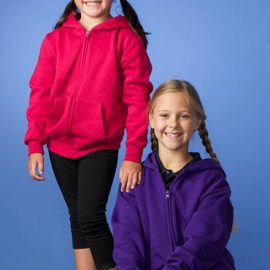 The Aussie Pacific Kids Cronulla Zip Hoodies are a 50/50 polyester cotton blend. In 2 colours. Full Zip. Great branded hoodies and printed sportswear.