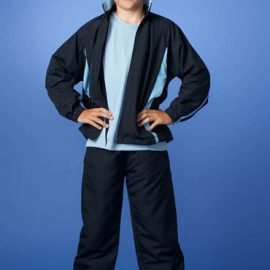 The Aussie Pacific Kids Eureka Track Jacket is made from 100% pongee polyester fabric. 14 colours. 6 - 16. Great branded track jackets and sportswear.