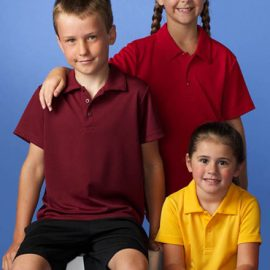 The Aussie Pacific Kids Botany Polo shirt is made from 100% Driwear polyester moisture removal. 9 colours. Great branded polos and sportswear.