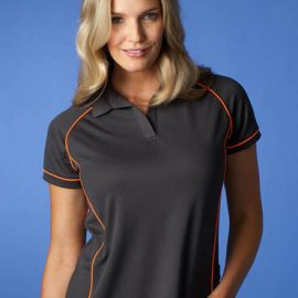 The Aussie Pacific Ladies Endeavour Polo Shirt is made from 100% Driwear polyester moisture removal fabric.  19 colours.  Great branded polos & sportswear.