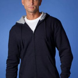 The Aussie Pacific Mens Kozi Zip Hoodies are an 80/20 cotton & polyester blend jersey knit.  In 5 colours.  Great branded zip hoodies & printed sportswear.