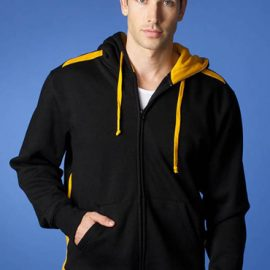 The Aussie Pacific Mens Franklin Zip Hoodies are a 50/50 polyester cotton blend, 300gsm. In 10 colours. Great branded hoodies & sportswear.